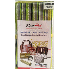 KnitPro # 12082 GREENERY Fixed Circular Needle Case (Case Only)