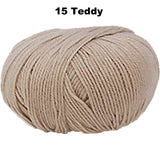 BAMBINI 4 -100% Australian Wool 4ply/Sport - 50g / 200m  CHOOSE COLOUR