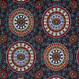 ALURA SEED DREAMING RED by Aboriginal Artist Karen Bird