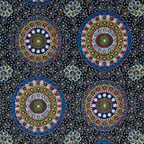 ALURA SEED DREAMING YELLOW by Aboriginal Artist Karen Bird