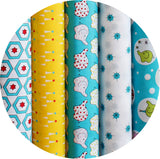 BACKYARD CIRCUS BLUE - Jelly Roll - 25 Strips 2.5 x 44""