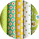 Ella Blue BACKYARD CIRCUS GREEN - Jelly Roll - 25 Strips 2.5 x 44""