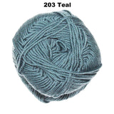BABY CASHMERINO - 5-ply/Sport 50g / 125m CHOOSE COLOUR