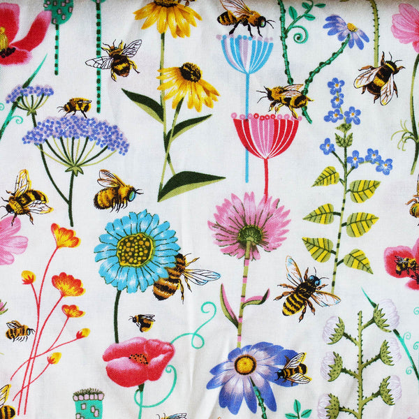HONEY BEES & FLOWERS