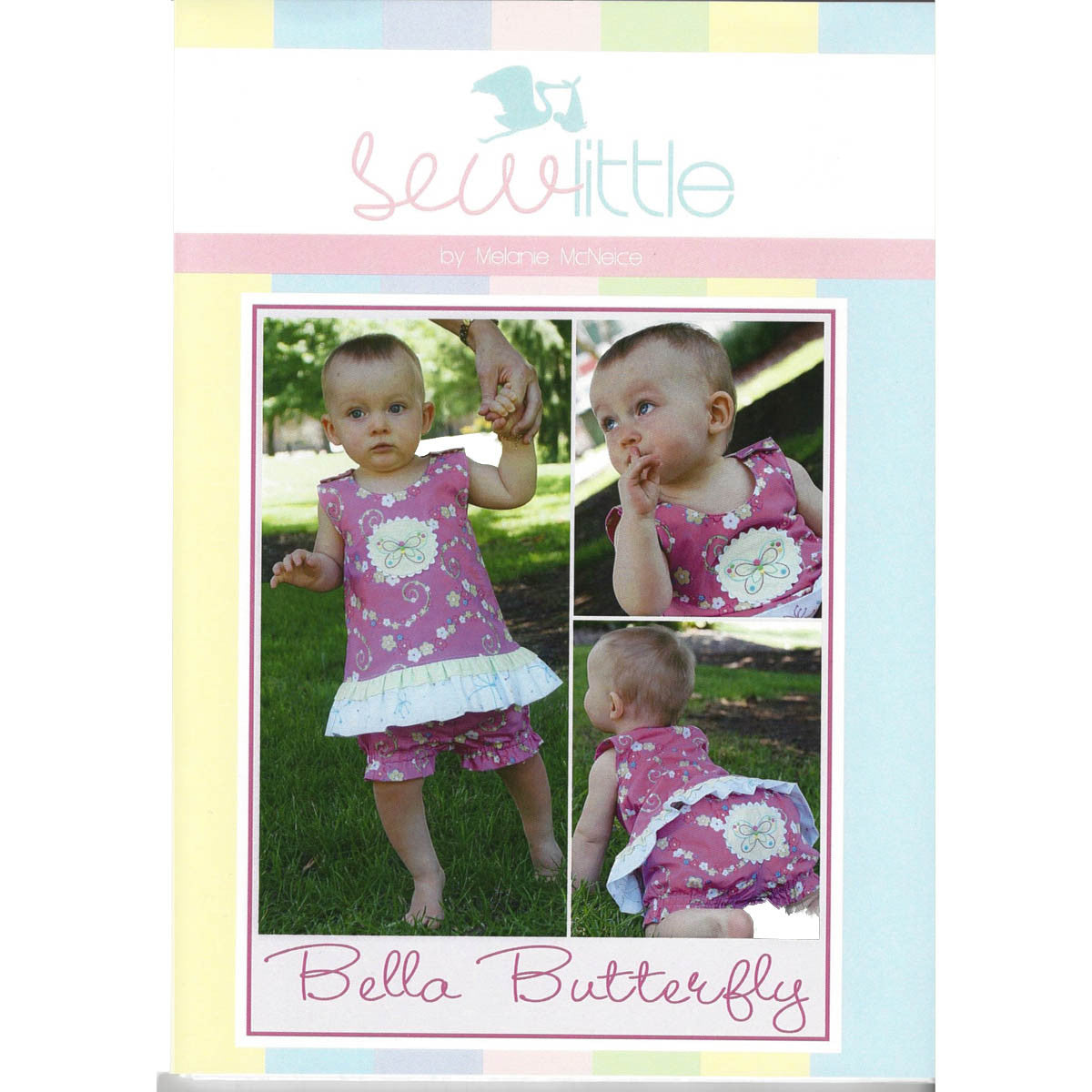 BELLA BUTTERFLY - Pattern - by Australian Designer Melanie McNeice of Sew Little
