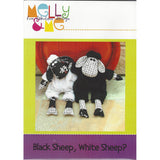 BLACK SHEEP, WHITE SHEEP - Soft Toy Pattern - by Australian Designer Melanie McNeice