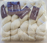 BOOROWA - Ecru - Fabulous for Dyeing - Pack of 5 x 100g Skeins - 100% AU & NZ Fine Merino