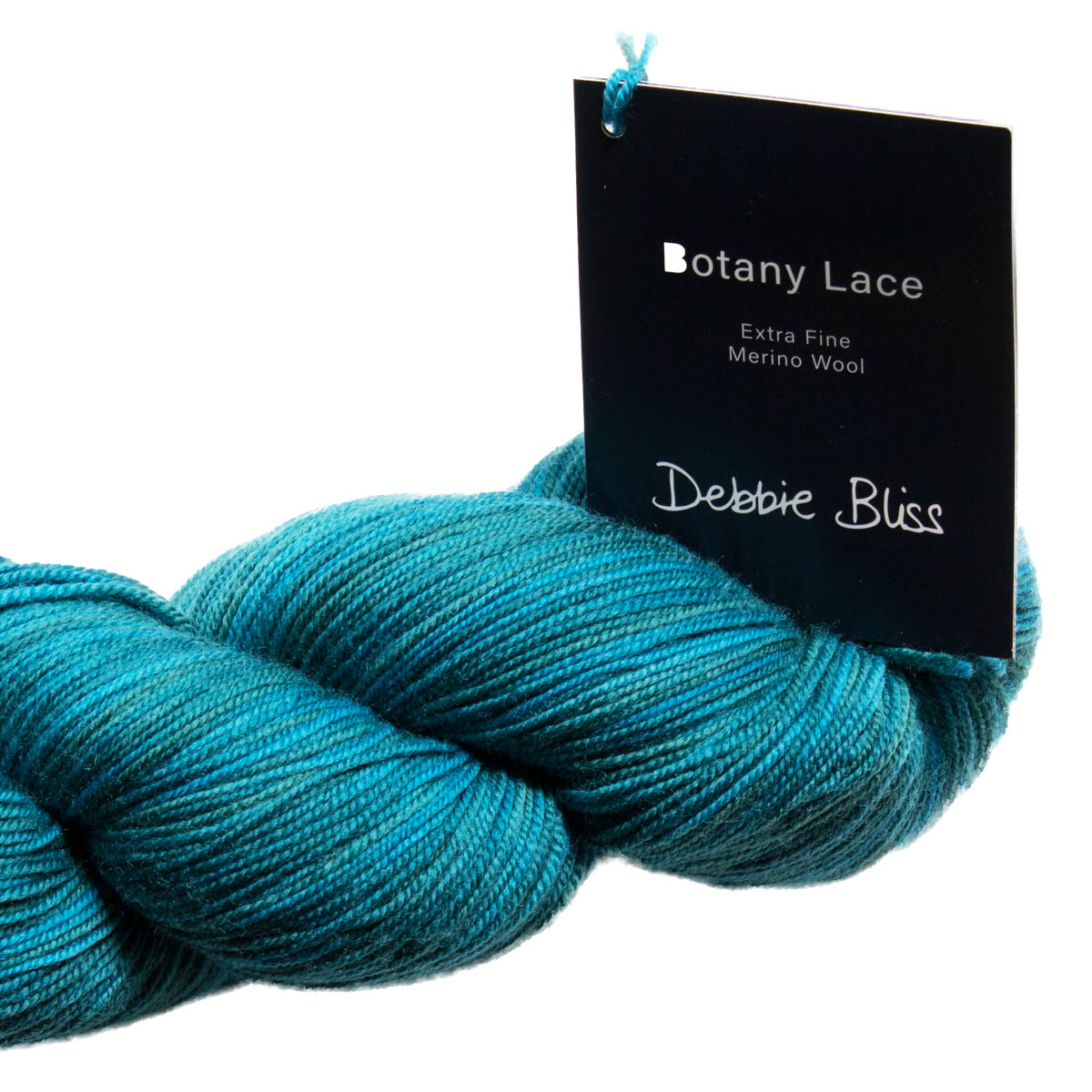 Botany Lace - # 3010 CORDOBA - 2 x Skeins - Blended Shades of Teal - 100% Extra Fine Merino Wool
