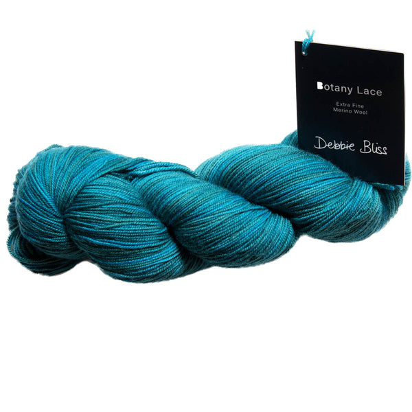 BOTANY LACE - 100% Extra Fine Merino Wool - 4ply/Laceweight 100g + 410m