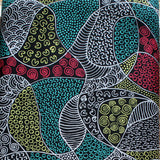 BUSH COCONUT DREAMING RED by Aboriginal Artist AUDREY NAPANANGKA