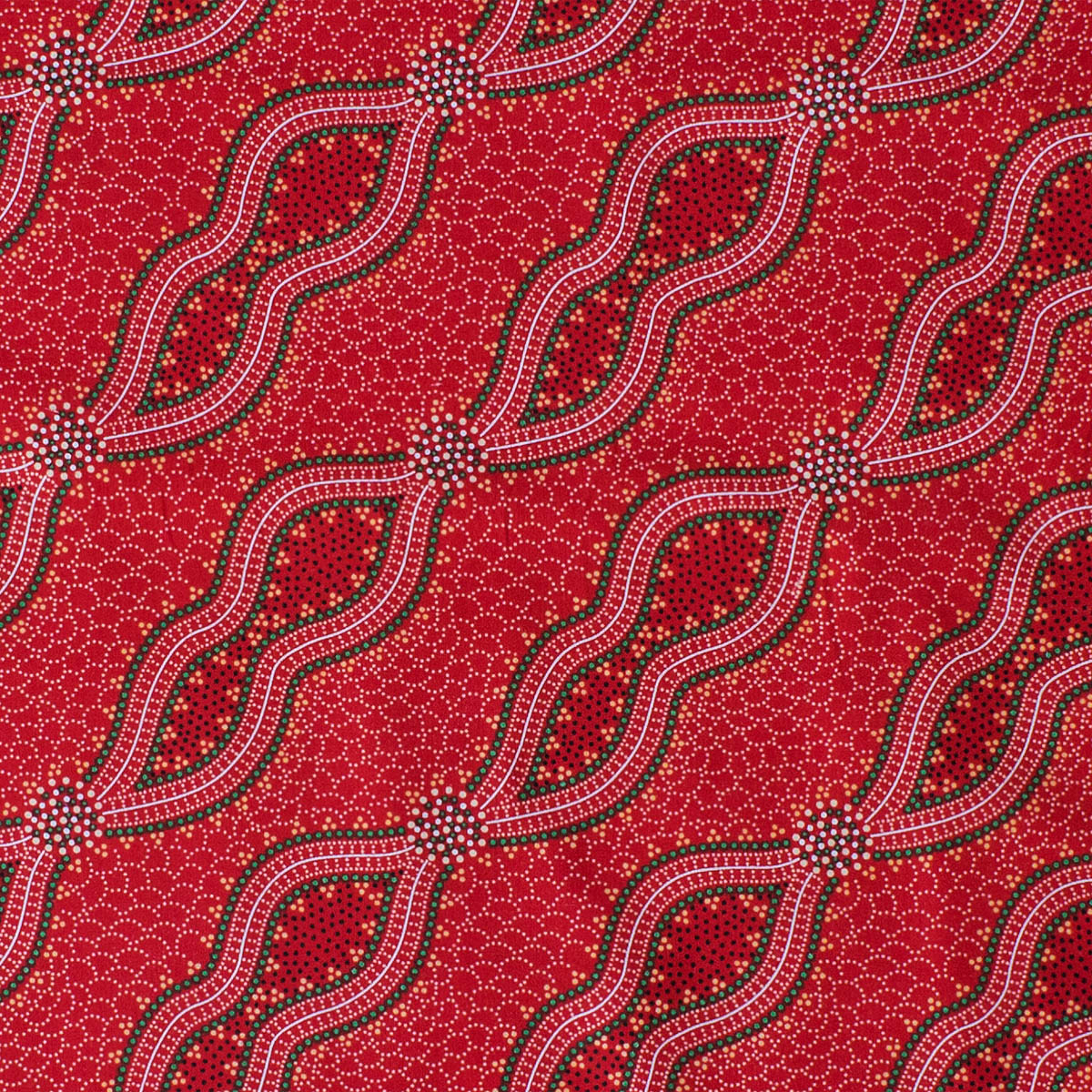 BUSH SPINIFEX RED by Aboriginal Artist Geraldine Riley