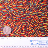 BUSH YAM RED #1 by Aboriginal Artist JEANNIE PITIJARA