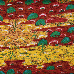 CANTEEN CREEK RED by Aboriginal Artist YVONNE BONNEY
