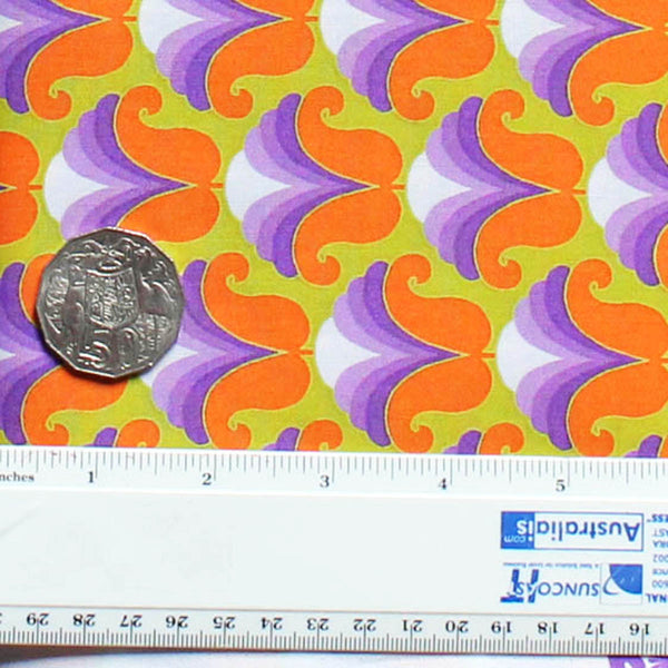 CHLOE PURPLE/ORANGE - 60's Scrapbag