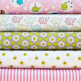 BACKYARD CIRCUS PINK  - FQ Bundle of 5 - Ella Blue Fabrics