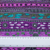 DREAMING IN ONE PURPLE by Aboriginal Artist BRADLEY STAFFORD