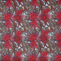 FLOWERING GUM RED CLAY by Aboriginal Artist ADAM CAMILLERI