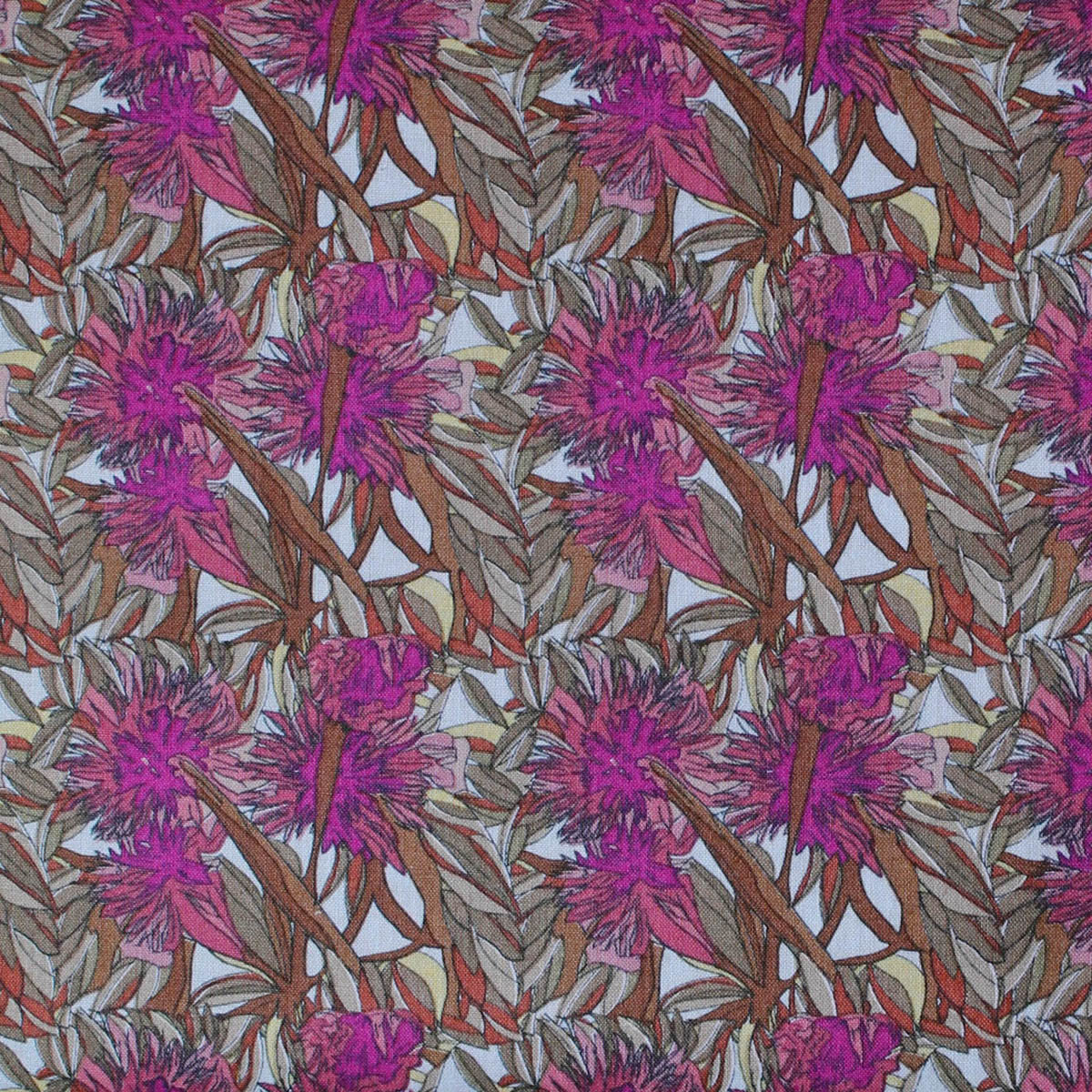 FLOWERING GUM PURPLE by Aboriginal Artist ADAM CAMILLERI