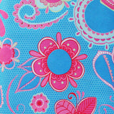 "FLOWER CHILD AQUA/BLUE - 20 Charm Squares 5"" x 5"""