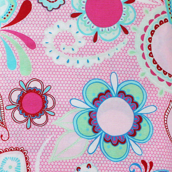 FLOWER CHILD PINK  - FQ Bundle of 5 - Ella Blue Fabrics