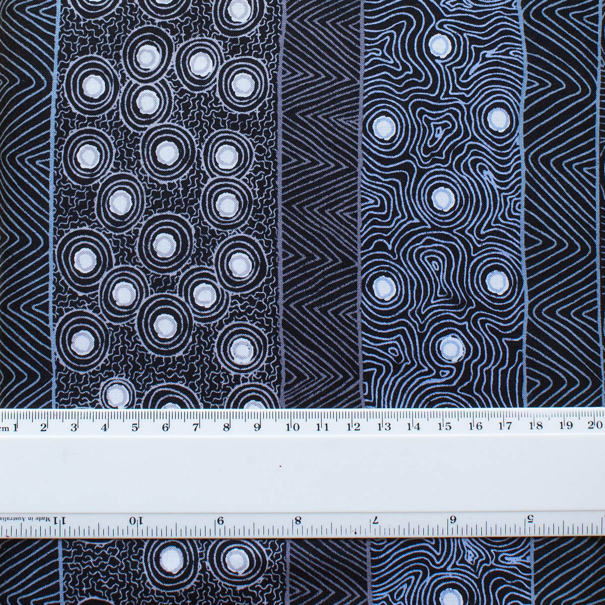 FOUR SEASONS BLACK by Aboriginal Artist MARIE ELLIS