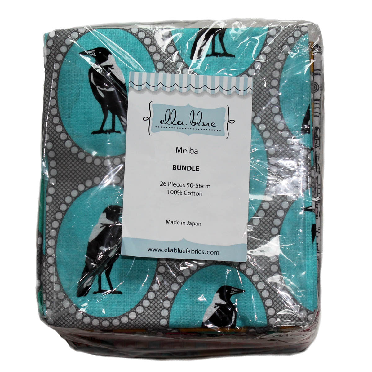 Ella Blue MELBA - 26 Fabric Fat Quarter Bundle