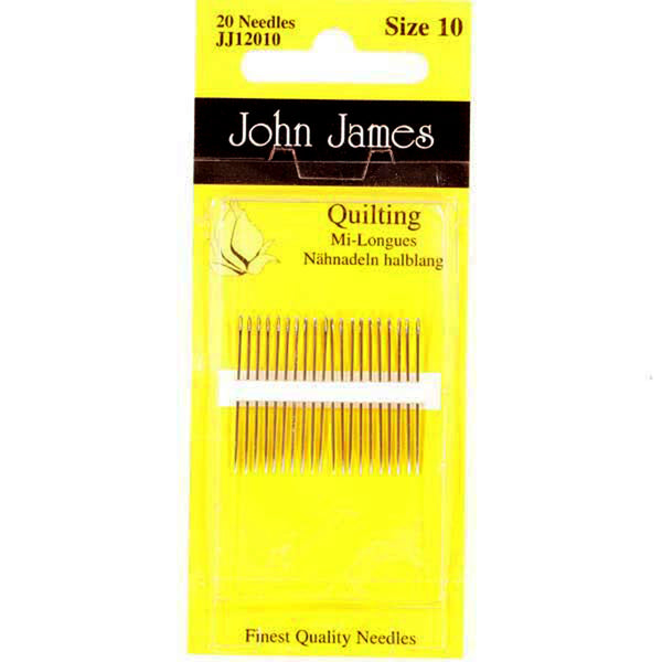 HAND NEEDLES - QUILTING (Mi-Longues)  by John James