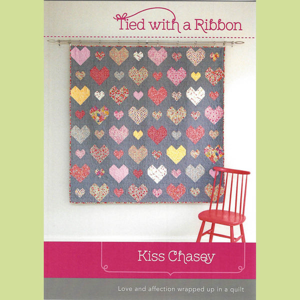 KISS CHASEY - Quilt Pattern - by Australian Designer Jemima Flendt - brand:  Tied With A Ribbon