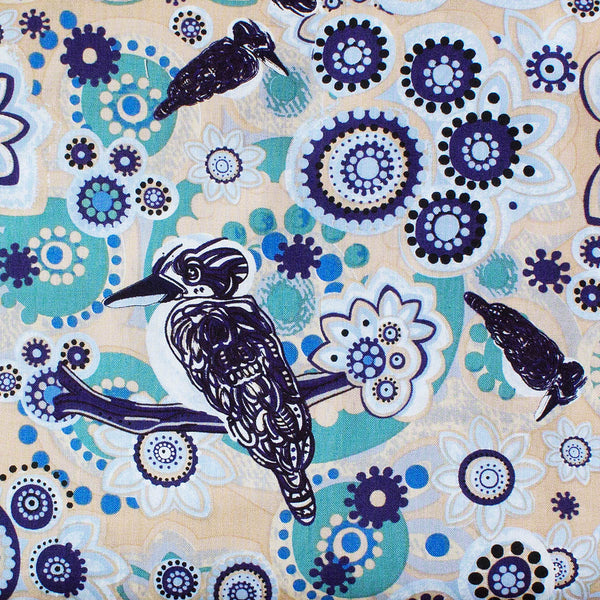 KOOKABURRA BLUE by Aboriginal Artist Samantha James