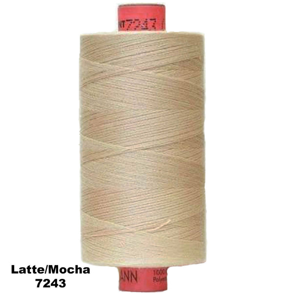 RASANT 120 R76 THREAD 1000m (1094yd) 42w Cotton/Poly Core (choose colour)