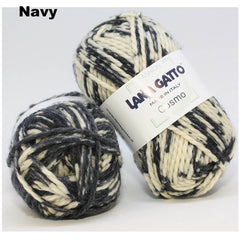 LANA GATTO - COSMO -  100% Wool 50g Ball  14 Ply/Super Chunky/Super Bulky CHOOSE COLOUR
