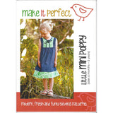 LITTLE MINI POPPY - Pattern (6 mos - 5 yrs)- by Make It Perfect