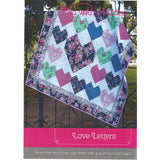 LOVE LETTERS - Quilt Pattern - by Australian Designer Jemima Flendt - brand: Tied With A Ribbon