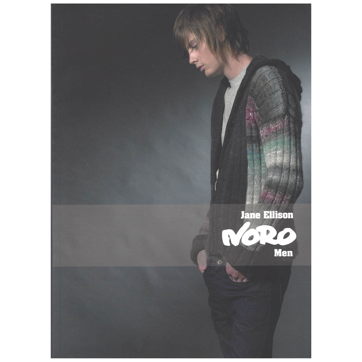 NORO MEN - 17 knitting designs for men - by Jane Ellison
