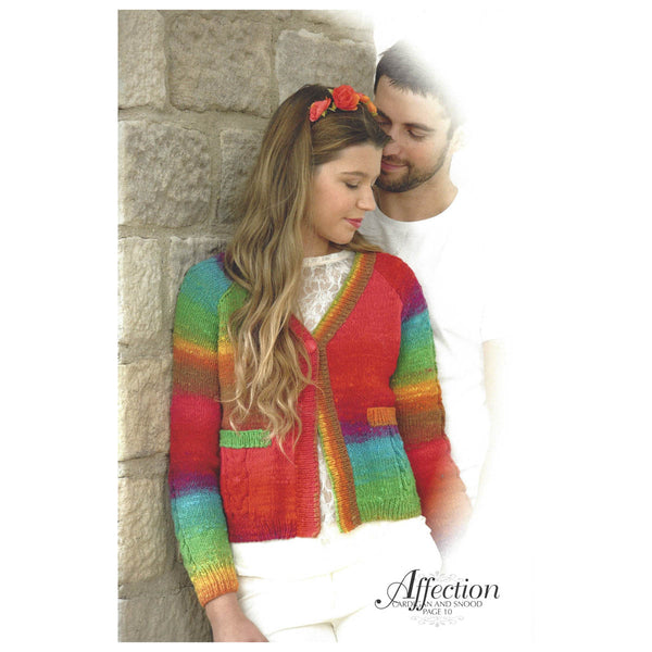 NORO ROMANCE -  12 knitting designs - by Jenny Watson