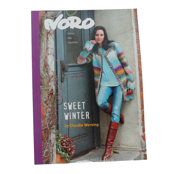NORO SWEET WINTER by Claudia Wersing - A book of 15 Fabulous Garments