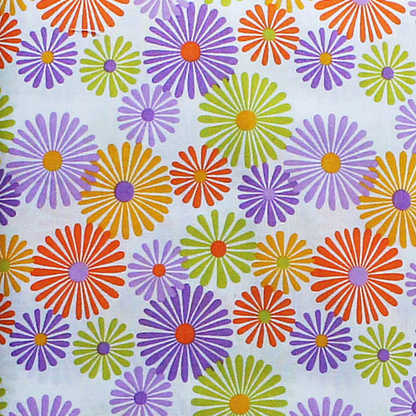 OLIVIA ORANGE/PURPLE - 60's Scrapbag