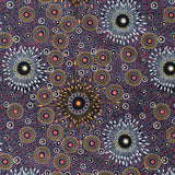 ONION DREAMING PURPLE by Aboriginal Artist Doris Inkamala