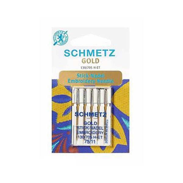 GOLD EMBROIDERY - MACHINE NEEDLE by SCHMETZ