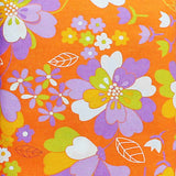 60'S SCRAPBAG  PURPLE/ORANGE - FQ Bundle of 5 - Ella Blue Fabrics