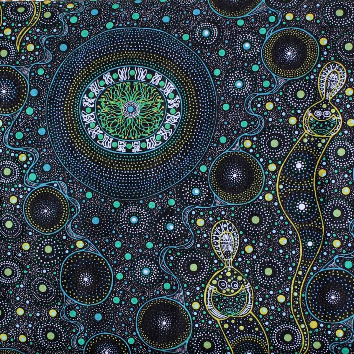 SPIRITUAL WOMEN GRAY by Aboriginal Artist CHANDA CONWAY
