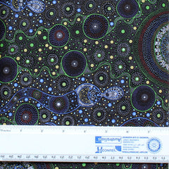 SPIRITUAL WOMEN GREEN by Aboriginal Artist CHANDA CONWAY