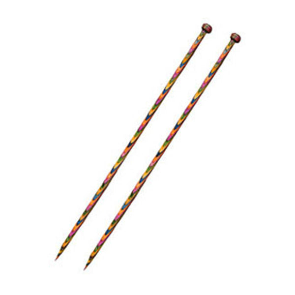 Knit Pro - SYMFONIE WOOD - Single Pointed Needles 30cm Set of 8 Pairs + Case