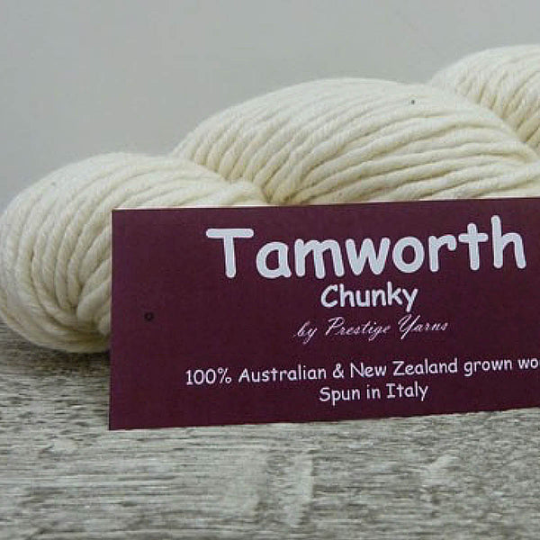 TAMWORTH (Undyed)14 ply/Super Chunky 100g/90m 100% AU & NZ Merino Wool