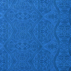 UNTITLED BLUE by Aboriginal Artist NAMBOOKA