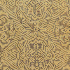 UNTITLED GOLD by Aboriginal Artist NAMBOOKA