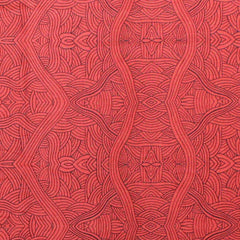 UNTITLED RED by Aboriginal Artist NAMBOOKA