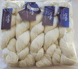 URALLA - Ecru - Fabulous for Dyeing - Pack of 5 x 100g Skeins - 100% AU & NZ Fine Merino