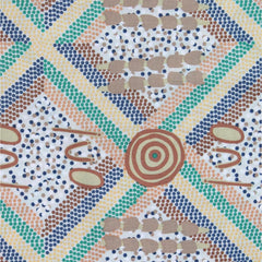 WANKAJI ASH -  by Aboriginal Artist NEETA WILLIAMS