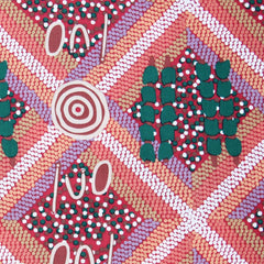 WANKAJI RED - by Aboriginal Artist NEETA WILLIAMS